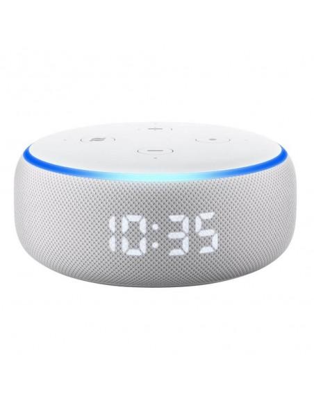 Amazon Echo Dot 3 con reloj