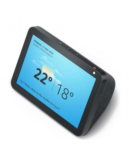 Estuche Clear View cover para Galaxy Note 5 - negro